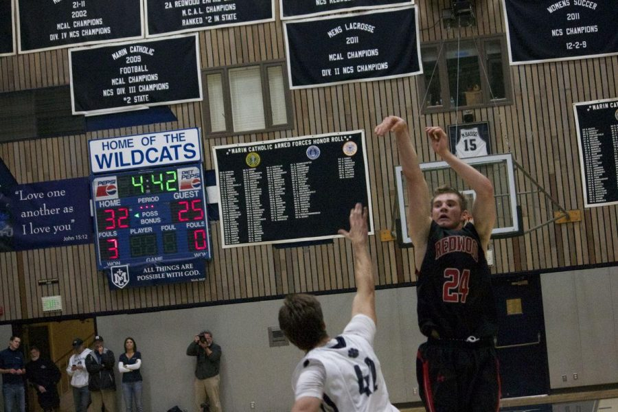 Despite strong start, varsity basketball loses to Marin Catholic