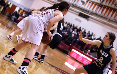 Varsity girls' basketball falls to Marin Catholic