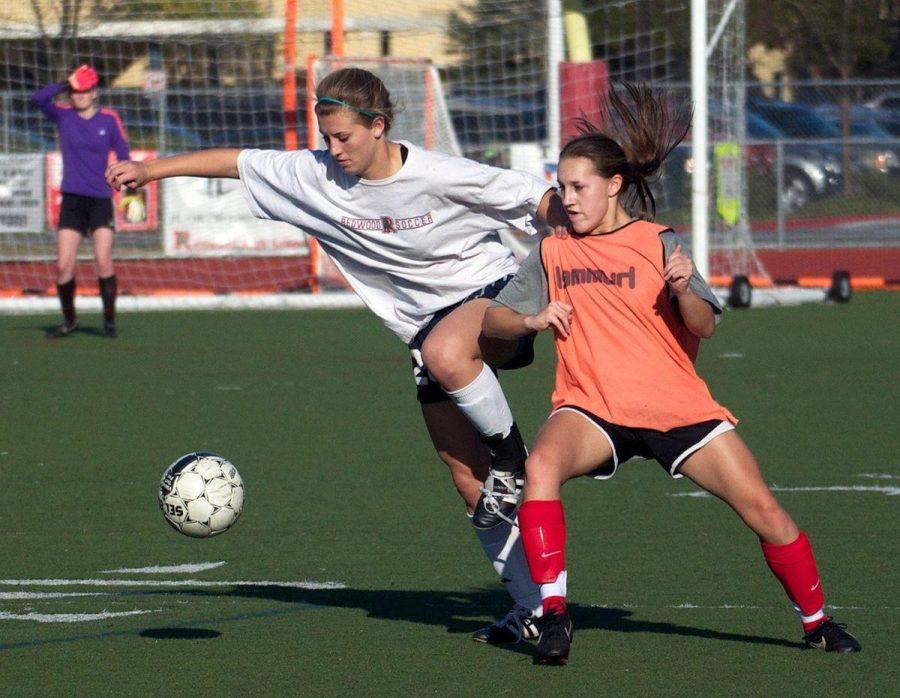 Varsity girls' soccer defeats University - San Francisco