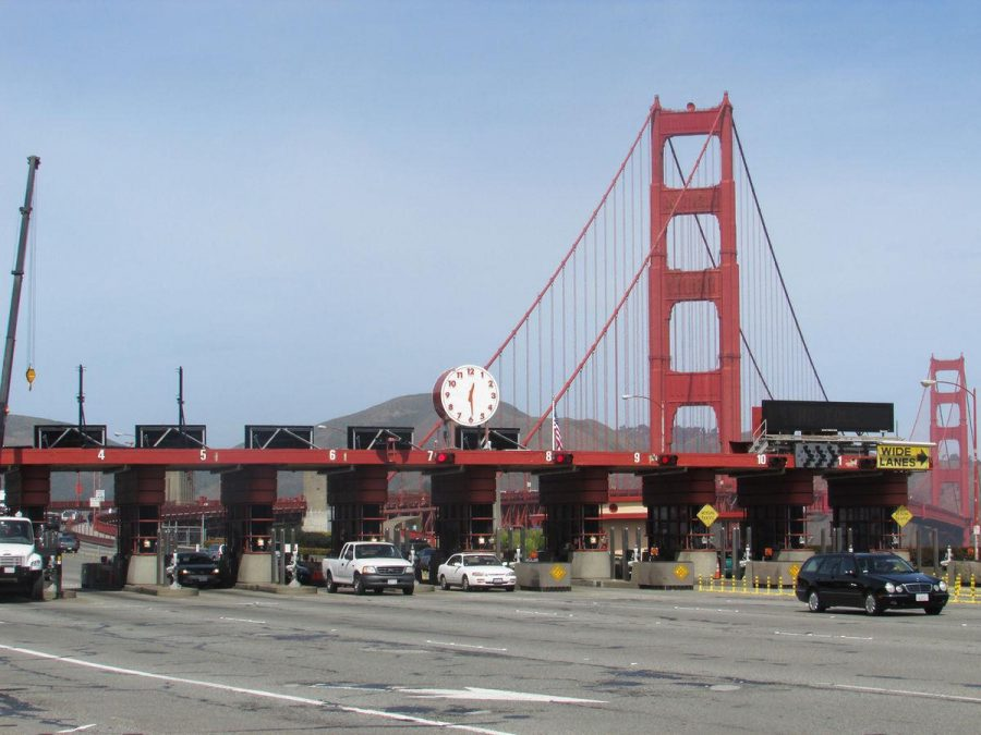 Golden Gate Bridge switches to all electronic tolls