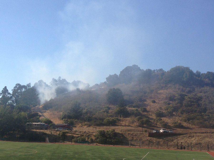 BREAKING: Fire breaks out in San Anselmo