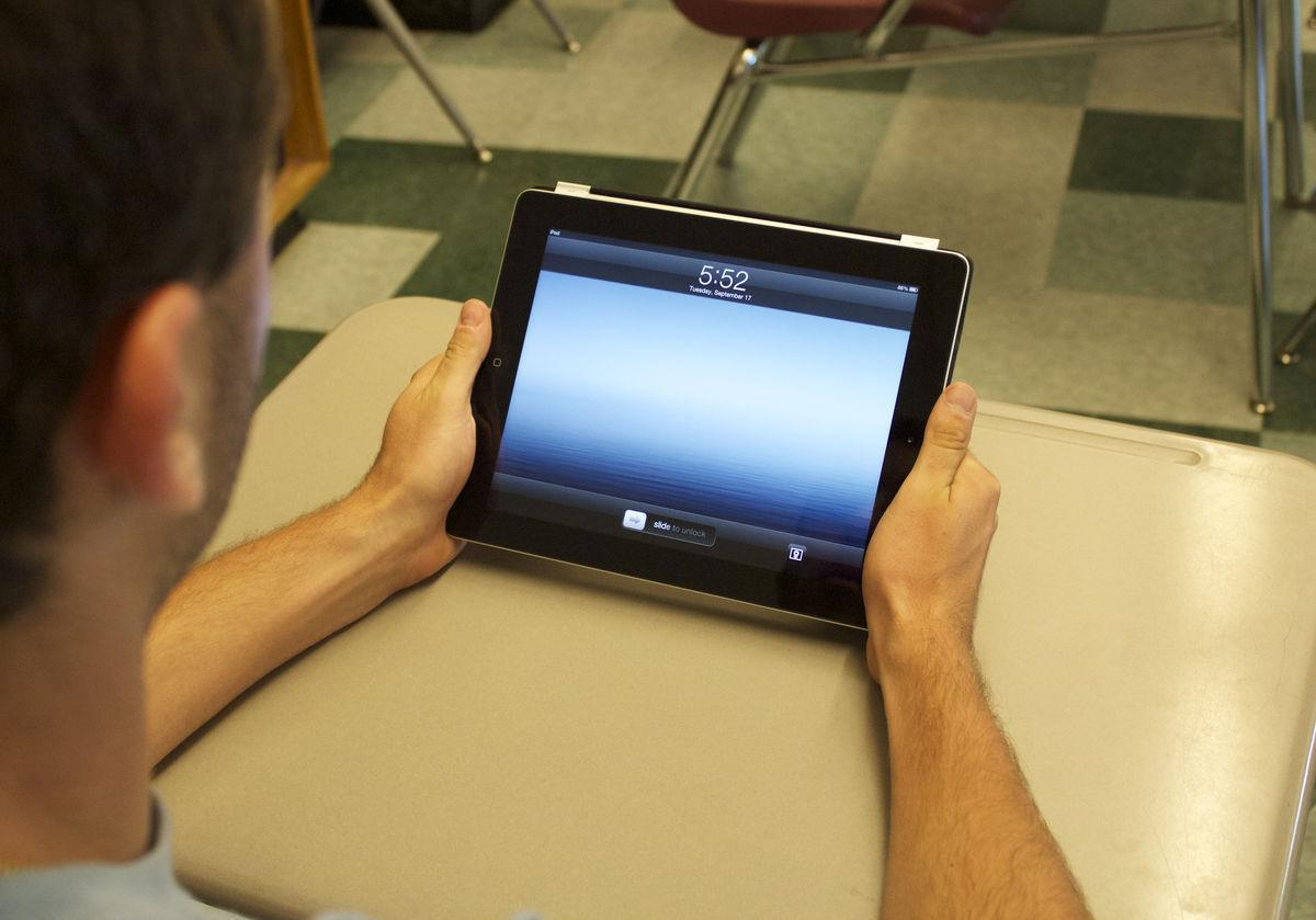 District adopts iPads in class
