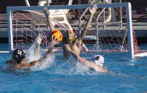 JV boys' waterpolo starts season with win