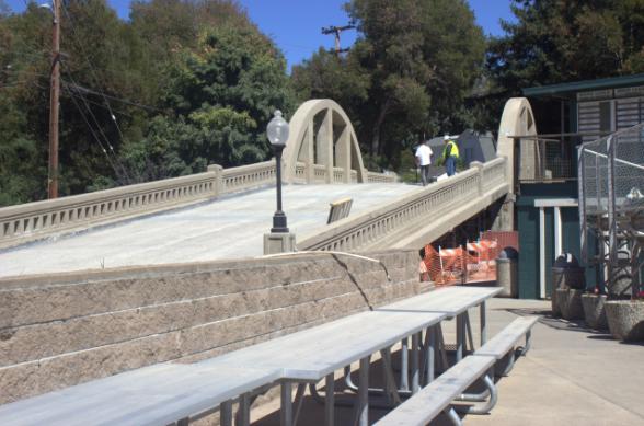 Alexander Bridge in Larkspur reopens