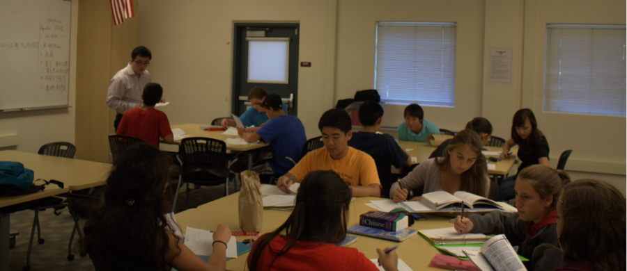 Ming Zhao Is teaching the Mandarin night class for the last year.