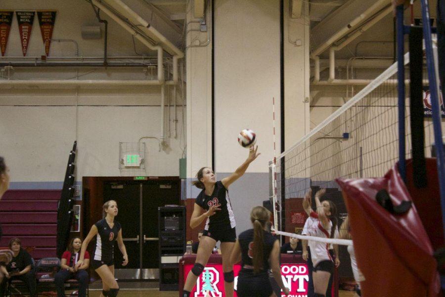 JV Girls' Volleyball aces San Rafael
