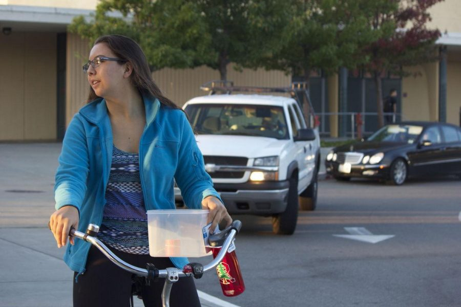 Students participate in walk or bike to school day