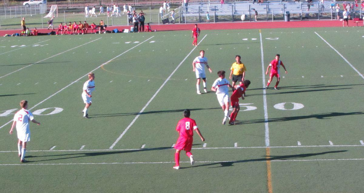 Varsity soccer team improves to 5-0-3 in MCAL with win over San Rafael