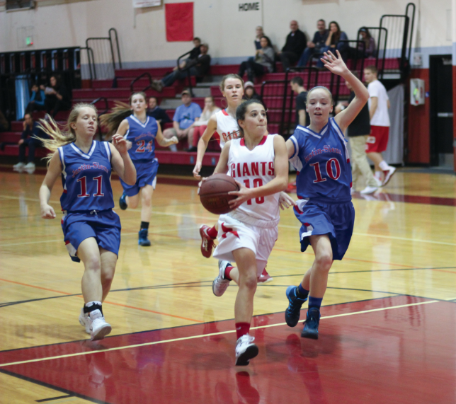 Freshman girls' basketball defeats Justin Siena