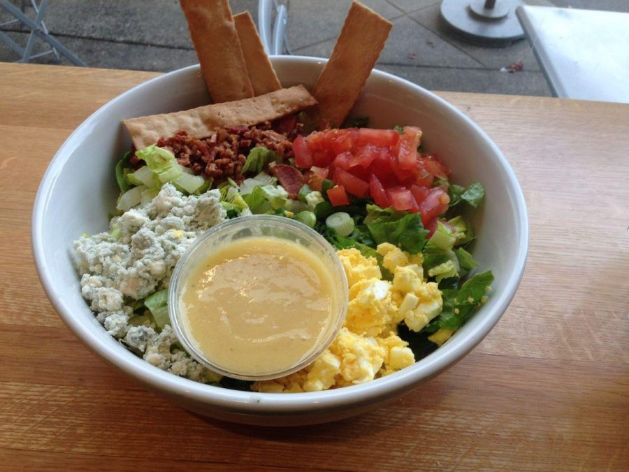 Rustic Bakery's chopped salad