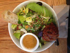 Blue Barn's Ahi tuna salad