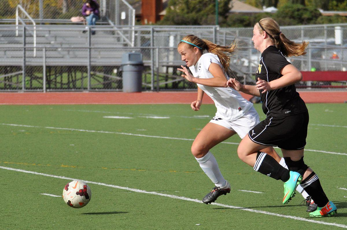 Strong defense keeps girls' soccer in playoff hunt