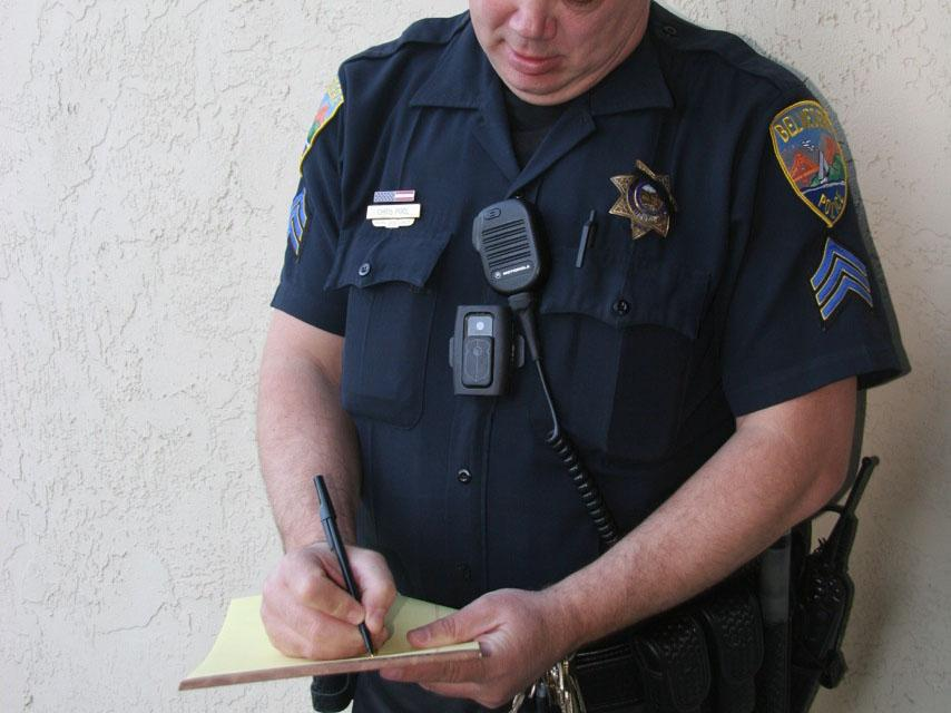 Local police utilize body cameras