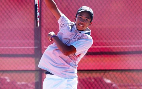 Nationally-ranked freshman stars on boys' tennis team