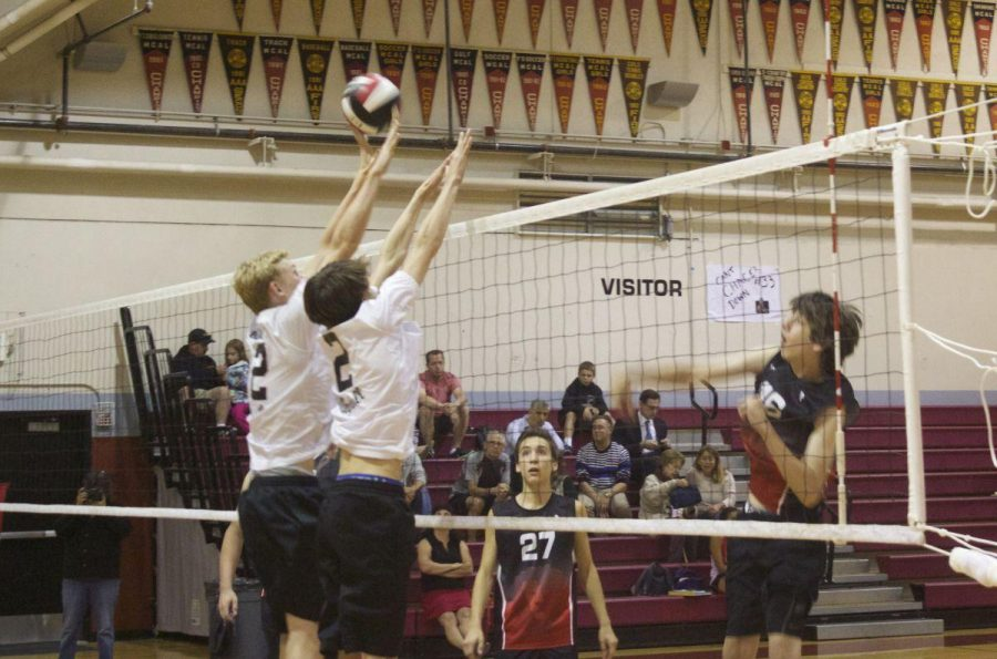 Boys' volleyball team advances to finals