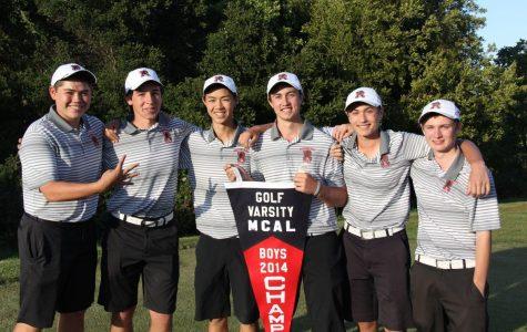 Boys' golf swings into NCS