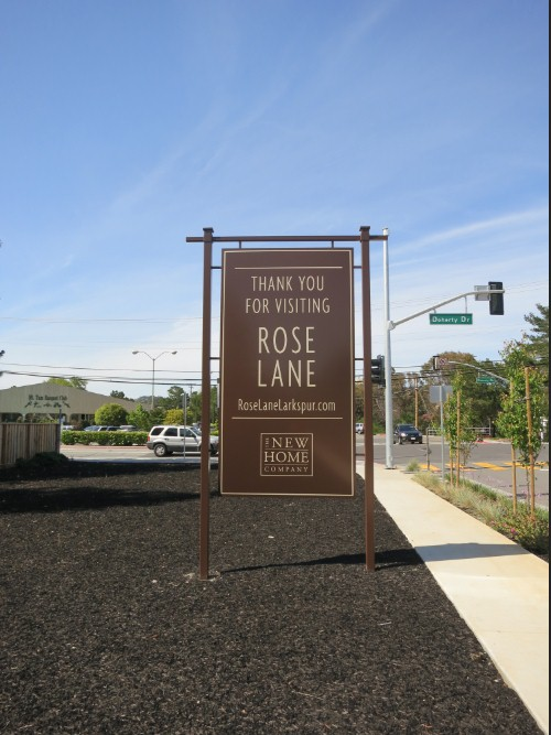 The Rose Lane development along Doherty Drive sits atop the former location of a Native American burial ground rich in artifacts.