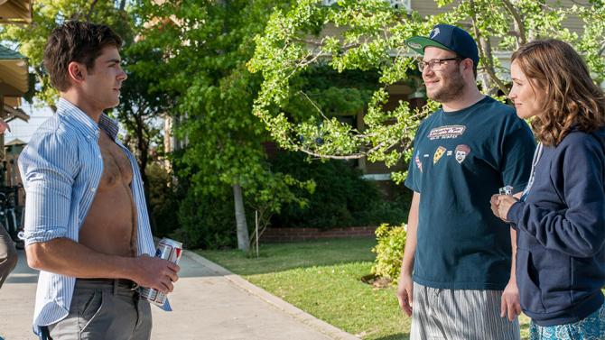 Neighbors highlights the comicality of transitioning into the real world