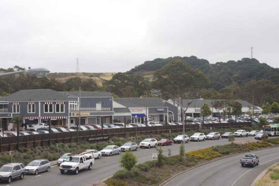 Larkspur Landing shopping center rests in front of one of the areas the purposed houses could sit.