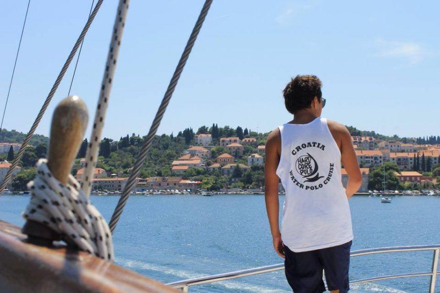 Junior+Jackson+Chou+looks+out+onto+the+Adriatic+Sea+in+Croatia.