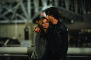 """IN THE ADAPTATION of Gayle Forman's 2009 novel """"If I Stay,"""" Mia Hall (played by Chloë Grace-Moretz) chooses between love for her boyfriend Adam Wilde (played by Jamie Blackley) and being with her family."""