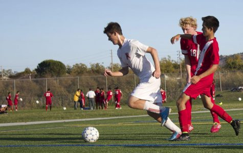 Gallery: Boys' varsity soccer comes out on top against San Rafael