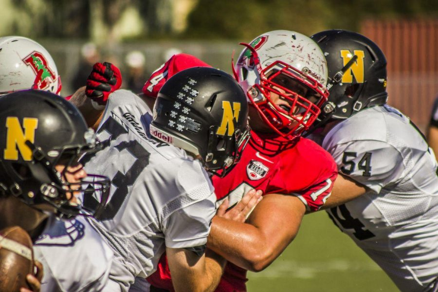 Gallery: Varsity football falls short during the Homecoming game