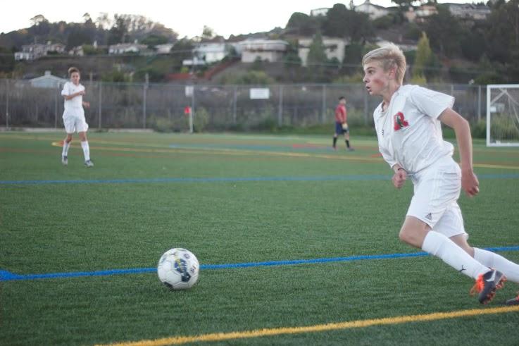 Boys' junior varsity soccer team falls to Terra Linda after game cut short