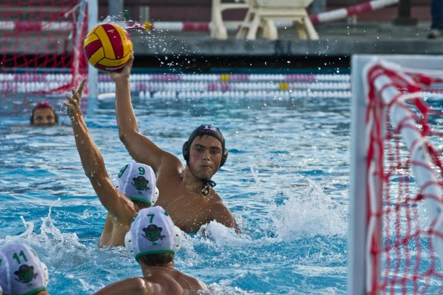 Boys' varsity water polo sinks against Drake