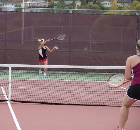 Varsity tennis prevails over Northgate High School in first round of NCS