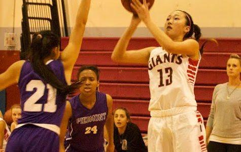 Girls' varsity basketball falls short in home opener