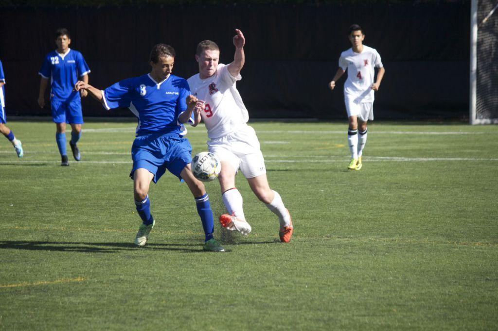Boys' varsity soccer moves onto NCS semifinals