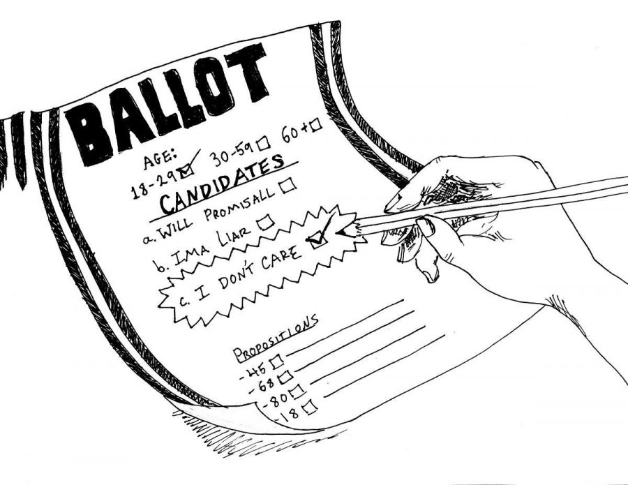 Take initiative and get to the polls: Your vote counts