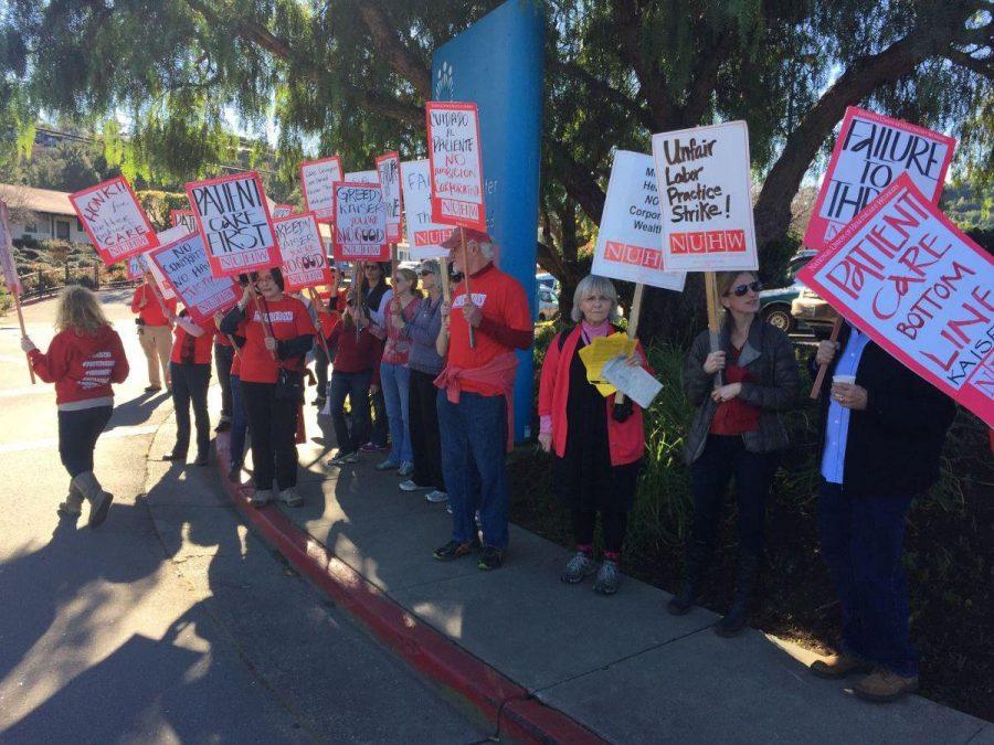 Mental health department strikes at Kaiser