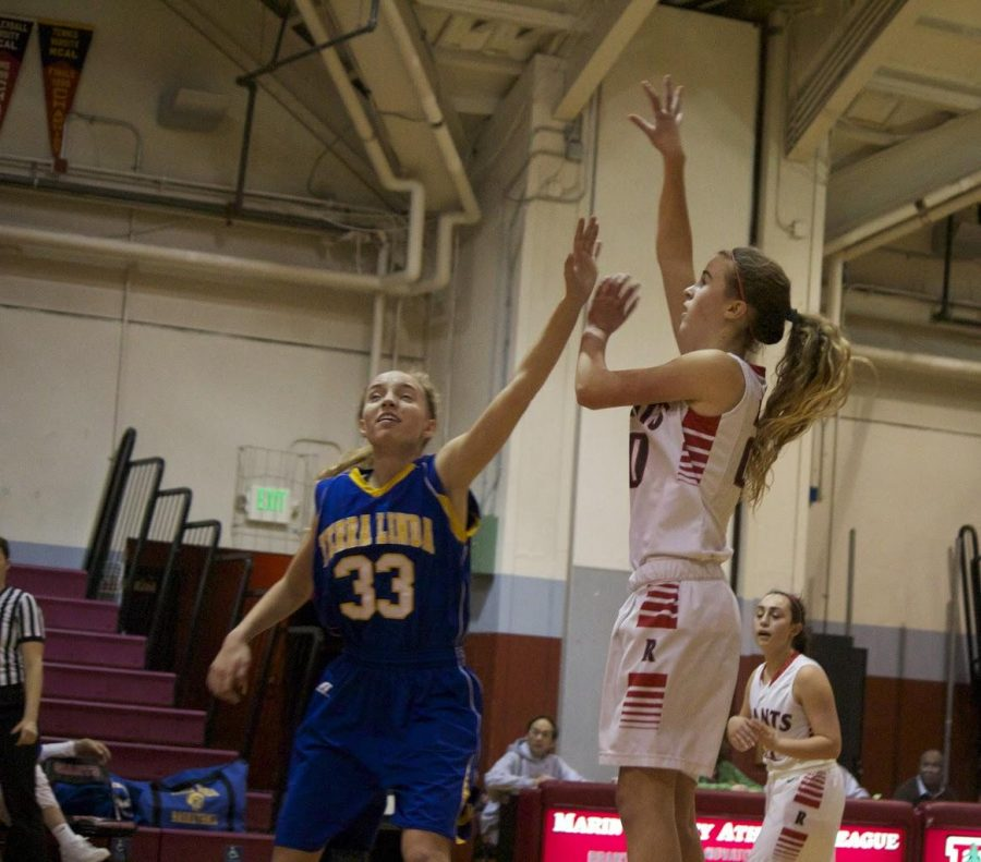 Girls' varsity basketball snags an easy victory over Terra Linda
