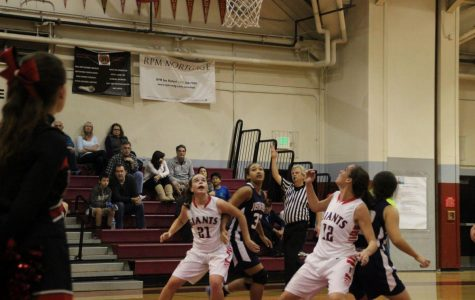 Girls' varsity basketball loses to Justin Siena despite early lead