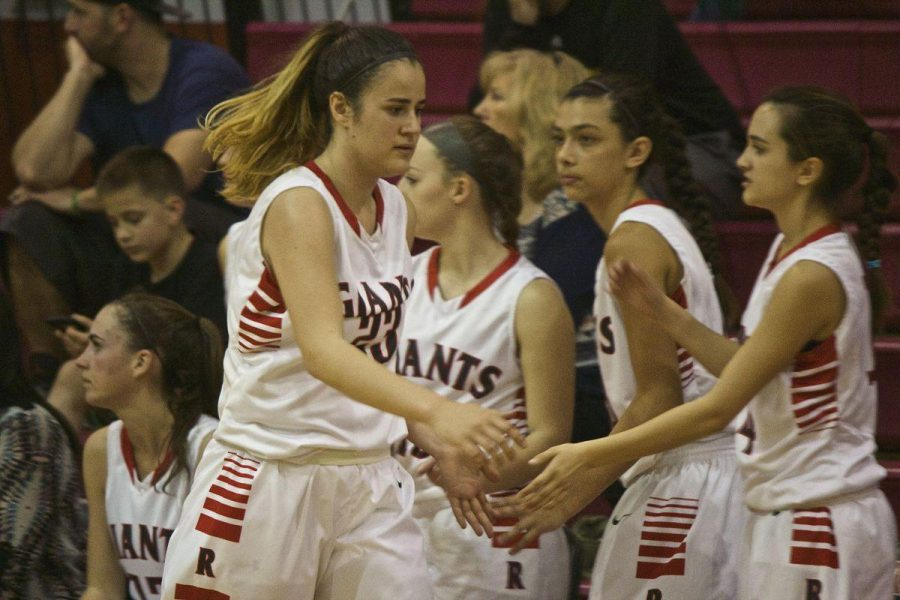 Girls' varsity basketball claims a victory over San Marin