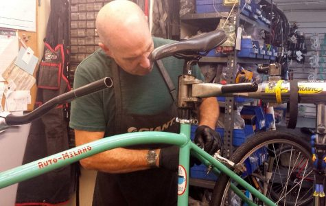 Building bikes to support underprivileged youth