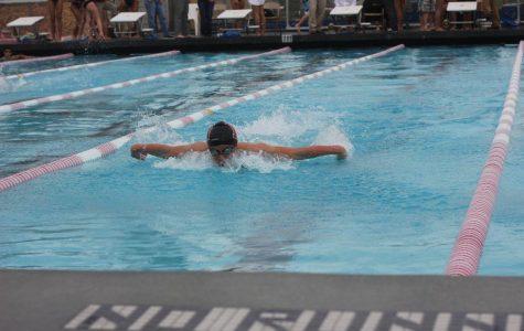 Varsity swimming earns victory over Marin Catholic
