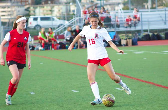 Girls' varsity soccer suffers tough loss in first outing