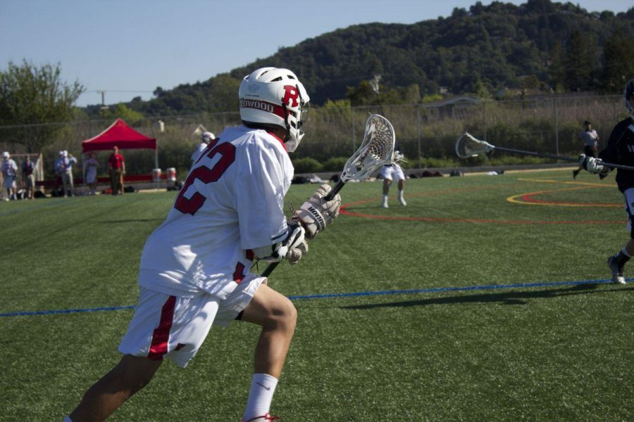Gallery: Boys' varsity lacrosse falls to Marin Catholic in nail-biter