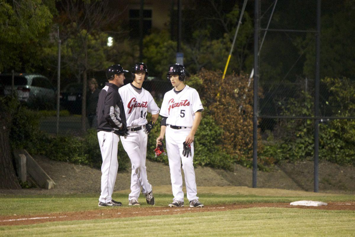 Varsity Baseball soars past Novato at game night