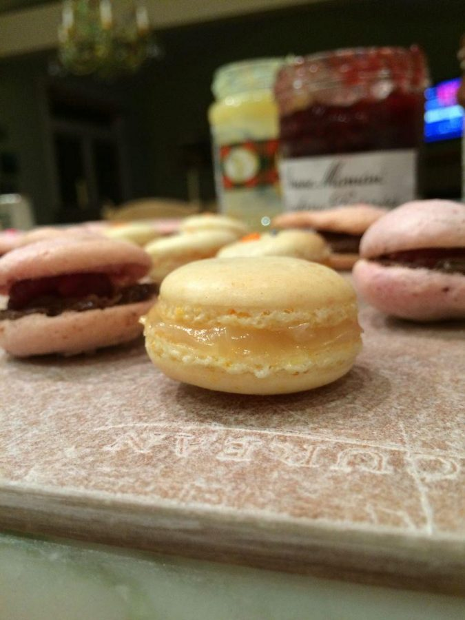 Elegant and sweet, homemade macaroons make a perfect spring treat