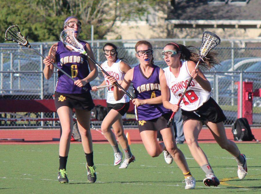 Girls' varsity lacrosse: One win, one loss