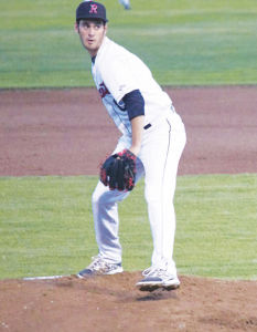 Junior Zach Cohen steps up to the mound to throw a pitch at a game against Novato on March 27.