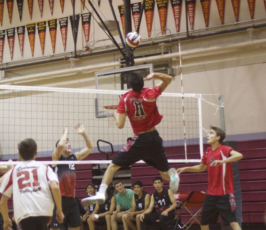 Boys' varsity volleyball advances to MCAL finals