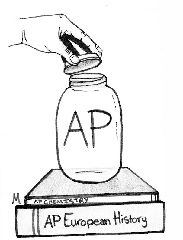 Decrease stress: Let's implement cap on AP courses