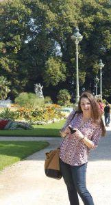 Senior Delaney Benstead spent her junior year studying in Rennes, France.