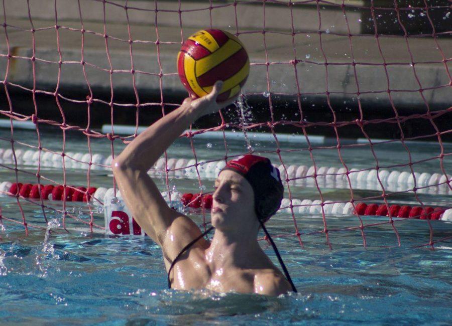 Varsity waterpolo overcomes Justin Siena