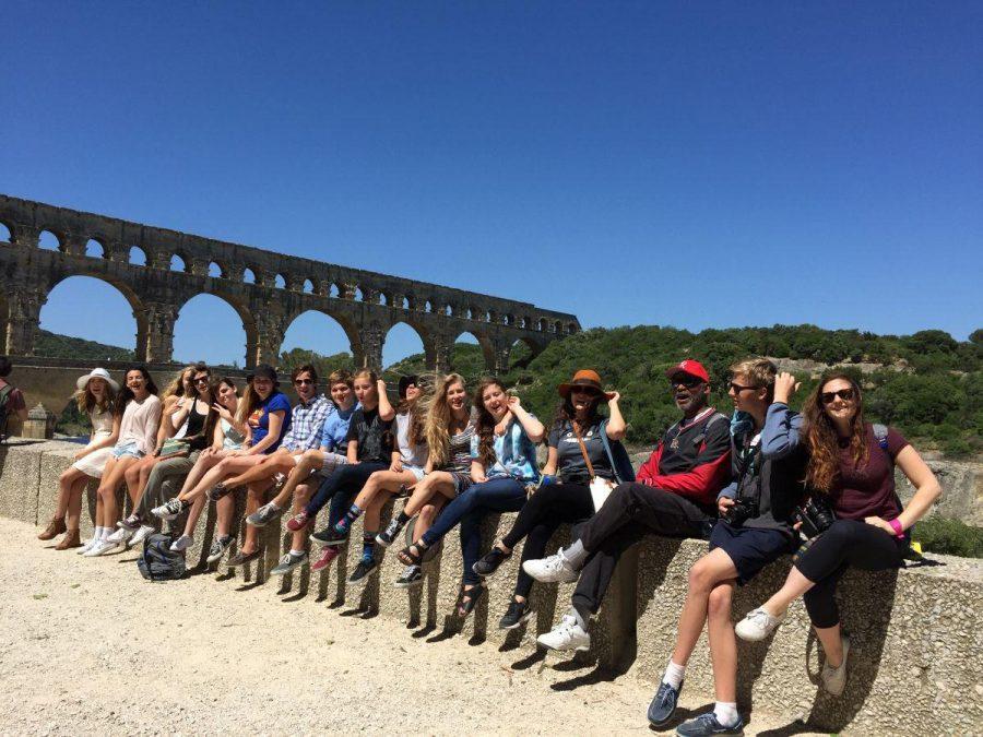 Bon voyage: school group visits France over summer
